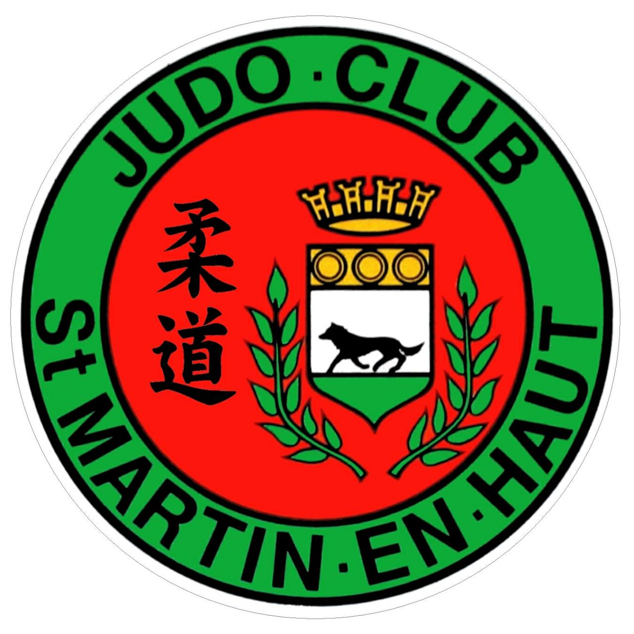 Logo JUDO CLUB ST MARTIN