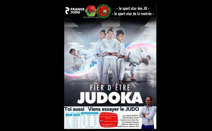 reprise du Judo le 15 septembre